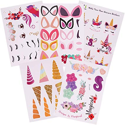 Amazon Com  Cooper Life Make Your Own Unicorn Stickers Party
