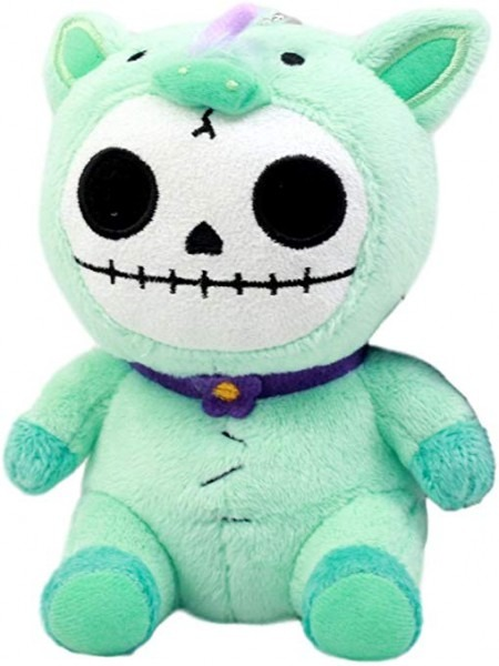 Amazon Com  Ebros Furrybones Blue Enchanted Unicorn Unie Cute