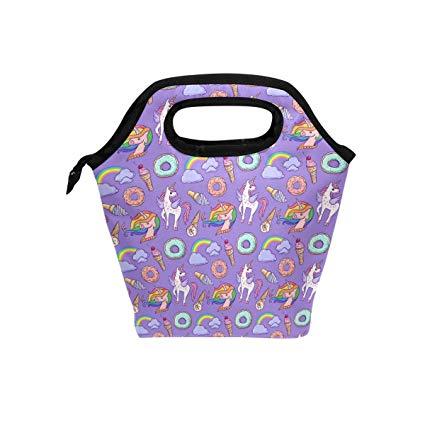 Amazon Com  Ice Cream Rainbow Purple Unicorn Ice Packs For Lunch