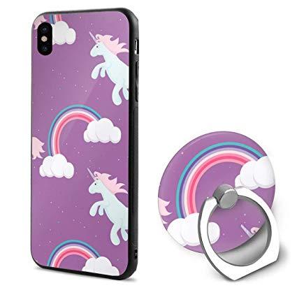 Amazon Com  Iphone X Case, Iphone X Ring Case Cute Unicorn Child