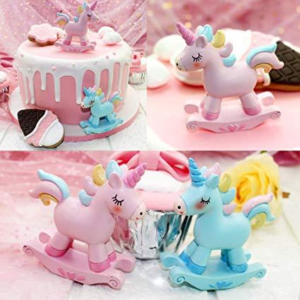 Amazon Com  Steam 2 Pack Unicorn Toys Figurines Playset, Mini