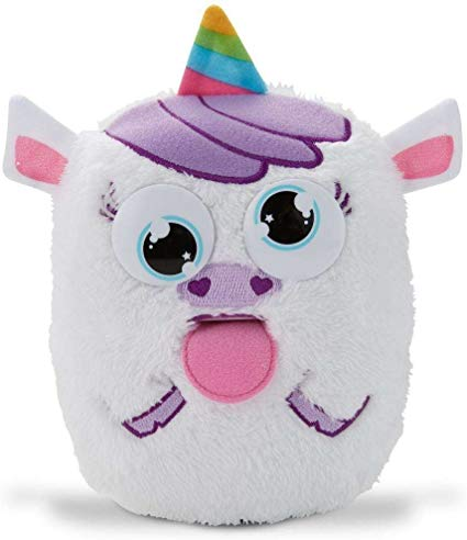 Amazon Com  Tizzy Tongues Monster Unicorn Interactive Plush Toy