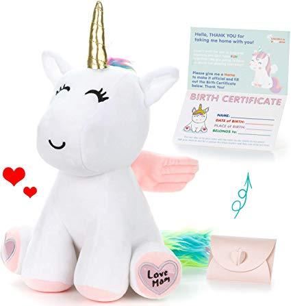 Amazon Com  Unicorn Stuffed Animal