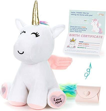 Amazon Com  Unicorn Stuffed Animal