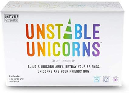 Amazon Com  Unstable Unicorns Card Game