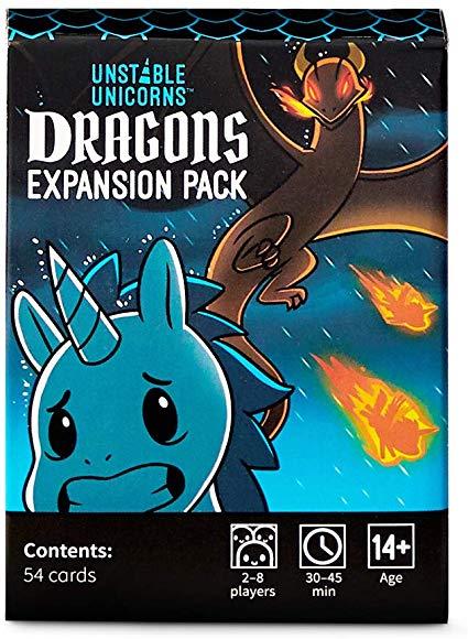 Amazon Com  Unstable Unicorns Dragons Expansion Pack
