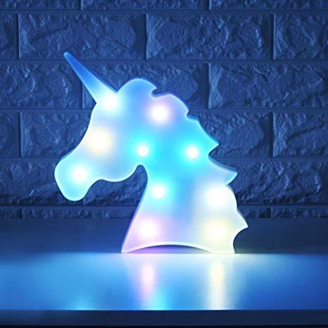 Amazon Com  Whatook Colorful Unicorn Light,changeable Night Lights