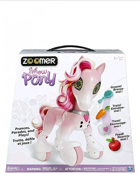 Amazon Com  Zoomer Enchanted Unicorn Exclusive Interactive Toy