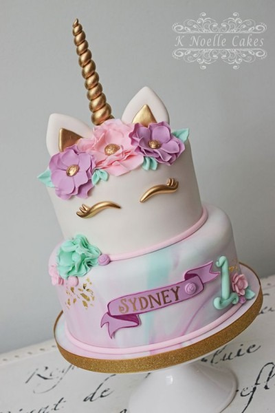 Awesome Birthday Party Ideas For Girls – Unicorn Cake