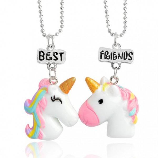 Best Friends Unicorn Necklace Set  Cool Unicorn Stuff From