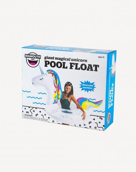 Big Mouth Glitter Unicorn Pool Float