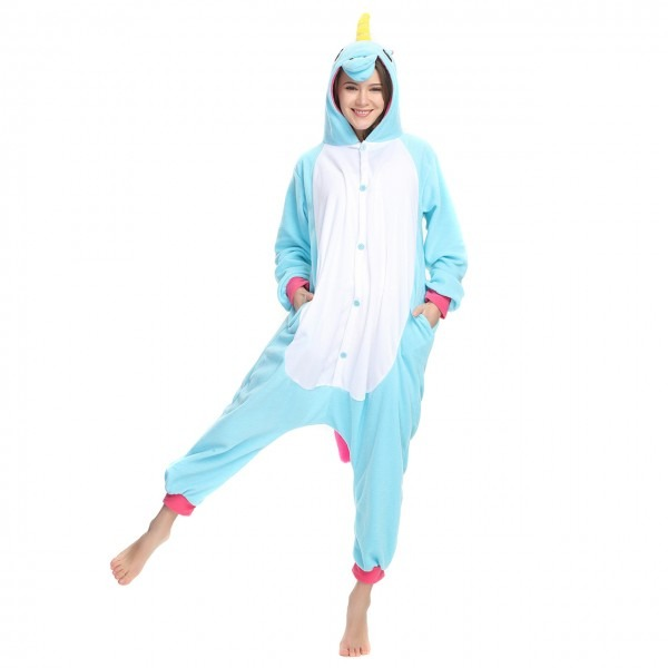 Blue Unicorn Onesie, Blue Unicorn Pajamas For Women & Men Online Sale