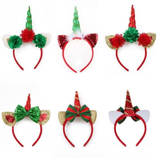 China 2018 New Arrival Hair Accessories Unicorn Headbands Girl
