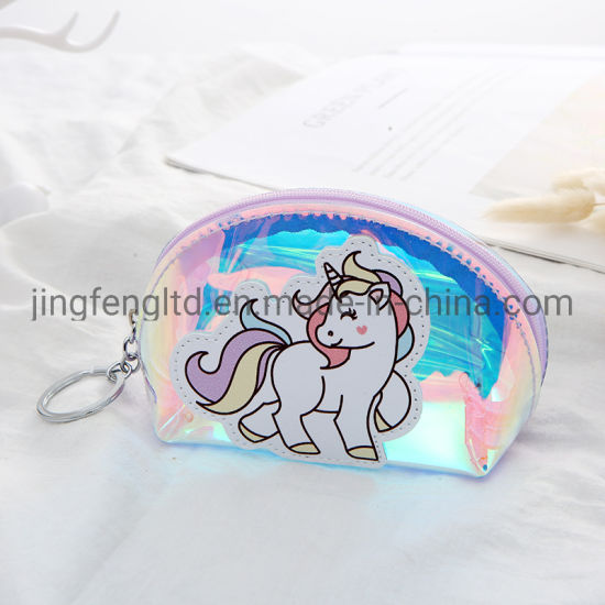 China Creative Hot Selling Transparent Pvc Unicorn Design Cute