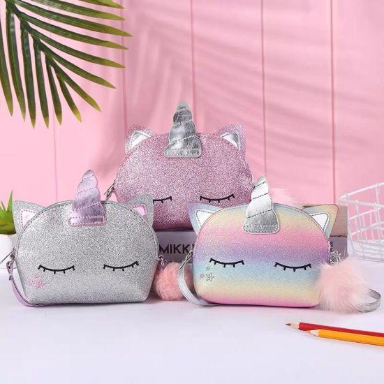 China Cute Unicorn Handbag Fashionable Bags For Kids Child Fashion