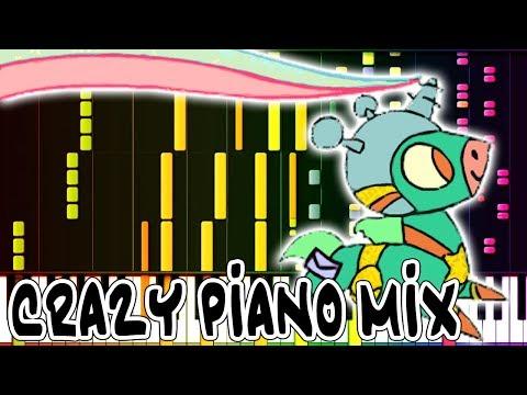 Crazy Piano Mix! Space Unicorn