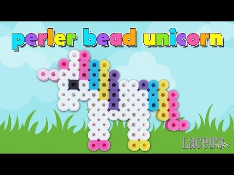 Cute Perler Bead Unicorn Pattern  Laceys Crafts Is All About