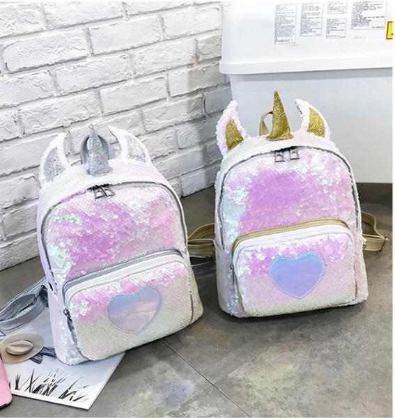 Designer Unicorn Backpack Personalised Bag Girls Backpack Girls