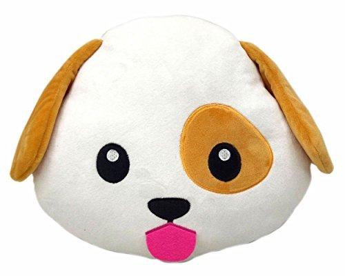 Dog   Poop Emoji Smiley Emoticon Round Cushion Pillow Stuffed Cute