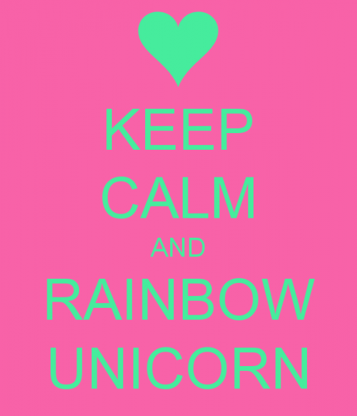 Free Download Unicorn Rainbow Wallpaper Keep Calm And Rainbow