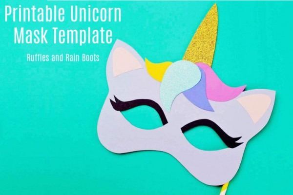 Free Printable Unicorn Mask
