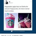 Unicorn Frappuccino Meme