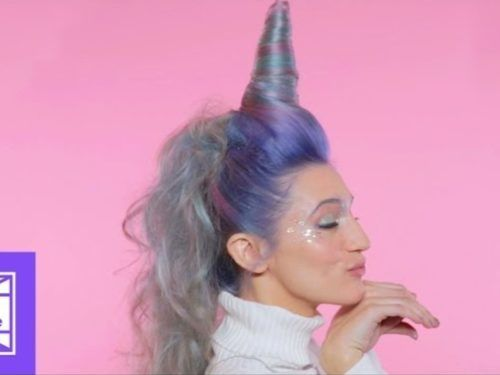 Hair Care Ideas   There's Now A Unicorn Hair Tutorial — And Yes