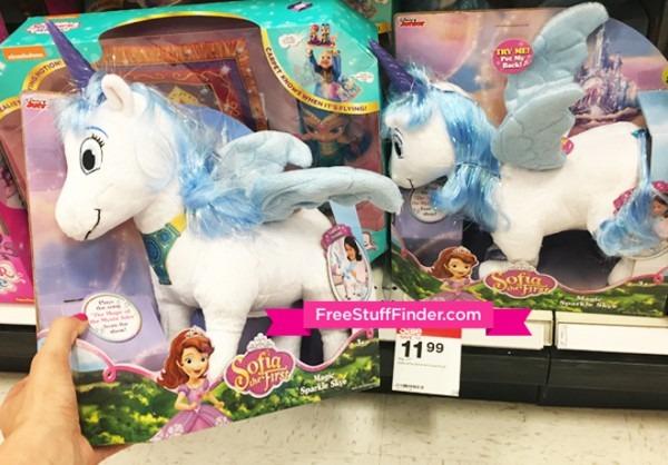 Hot  $11 99 (reg $25) Sofia The First Skye Unicorn Plush At Target