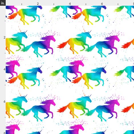 I Believe In Unicorns (rainbow Ombre)