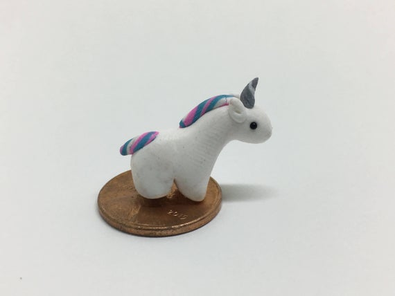 Miniature Unicorn Figurine Mini Unicorn Tiny Unicorn