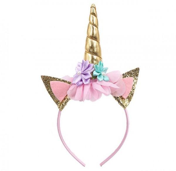 Muqgew Birthday Party Flower Lace Crown Headband Baby Birthday