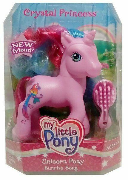 My Little Pony G3 Sunrise Song Crystal Princess Unicorn Toy Figure