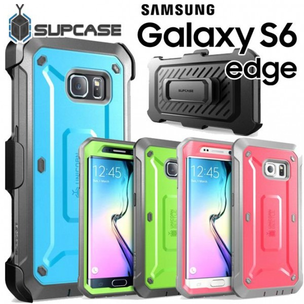 New Supcase For Galaxy S6 S6 Edge Unicorn Beetle Full Body Rugged