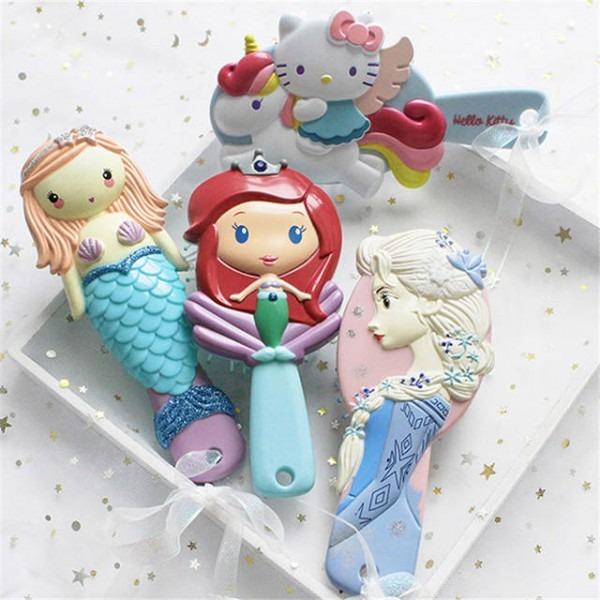 Online Shop Frozen Elsa Mermaid Ariel Unicorn Hello Kitty Kid Hair