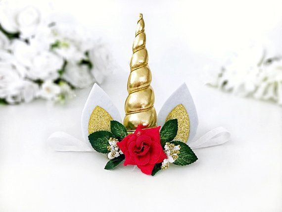 Our Beautiful Christmas Unicorn Headband Is The Perfect Accessory