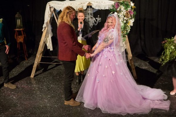 Pastel Goth Unicorn Wedding For $1500! · Rock N Roll Bride