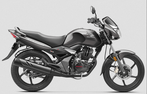 Pearl Igneous Black Geny Gray Metallic Honda Cb Unicorn 150 Bike