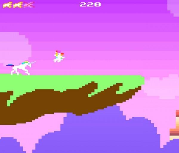 Play Retro Unicorn Attack