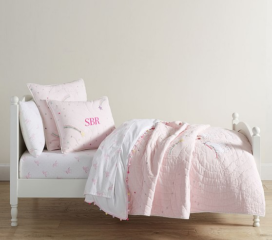Rainbow Unicorn Bedding Look