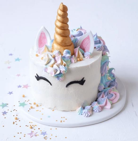 Rainbows, Sprinkles, Wonder Woman, And Unicorn Birthday Cake