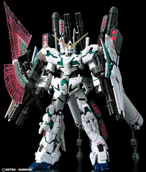 Rg Full Armor Unicorn Gundam English Color Guide & Paint