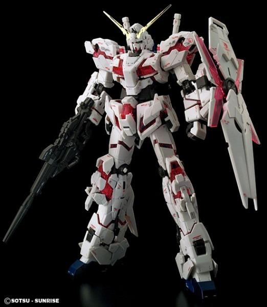 Rg Unicorn Gundam English Color Guide & Paint Conversion Chart