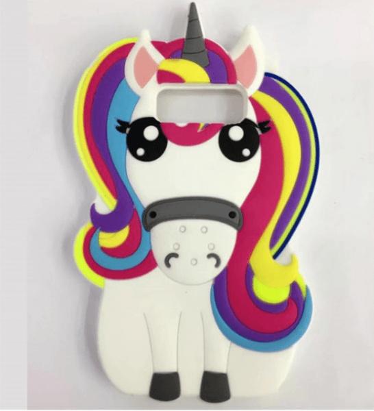 Samsung Galaxy Note 8 Cute Case Unicorn Ice Creams Soft Silicone