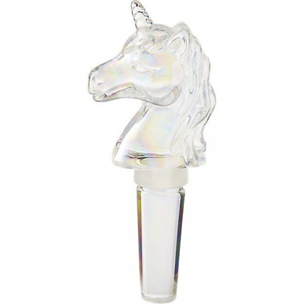 Shop Unicorn Iridescent Bottle Stopper  Tinted With A Whisper Of