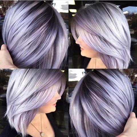 Silver Lavender Unicorn