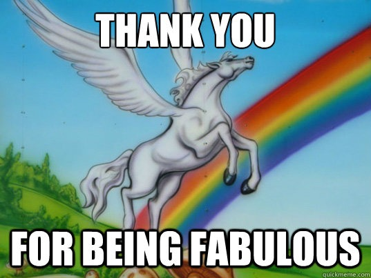 Thank You For Being Fabulous