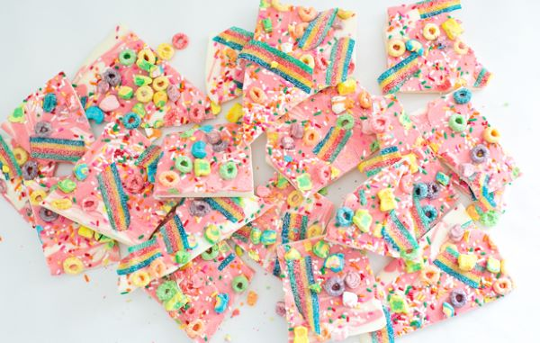 This Chocolate Unicorn Bark Is The Most Magical Treat Ever