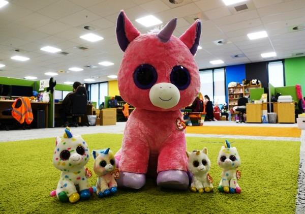Ty Beanie Boo  Magic Unicorn