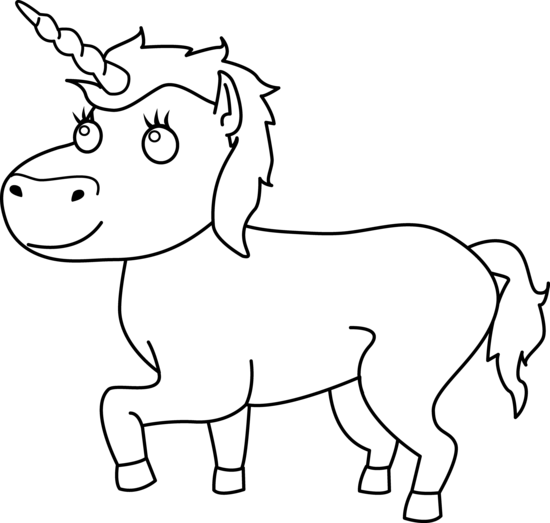 Unicorn Black And White Unicorn Clip Art Black And White Free