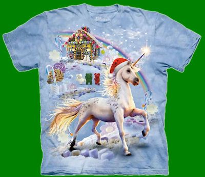 Unicorn Candy Land  Adult And Youth Sizes